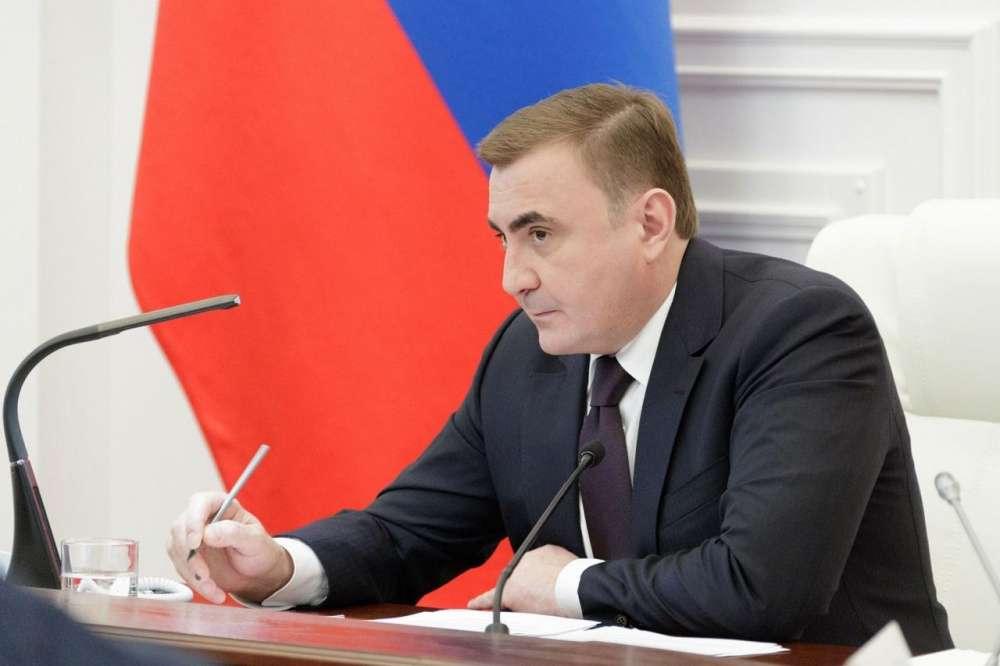Алексей Дюмин провел заседание регионального оперативного штаба по коронавирусу