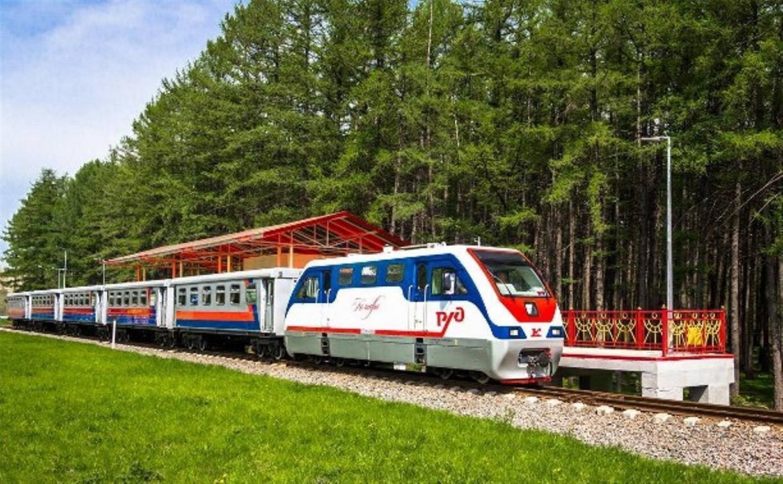 На  детской железной дороге в Новомосковске 1 мая откроется летний сезон