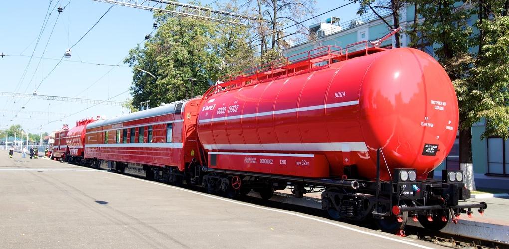 Пожарные поезда в Тульской области готовы к летнему пожароопасному периоду 2021 года