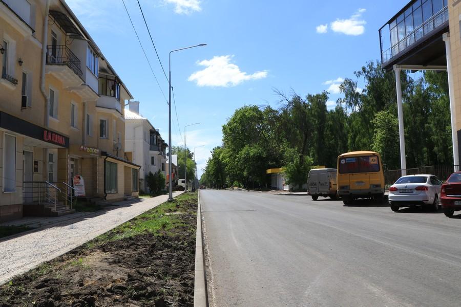 Дорога по ул. Березовой становится качественной и безопасной