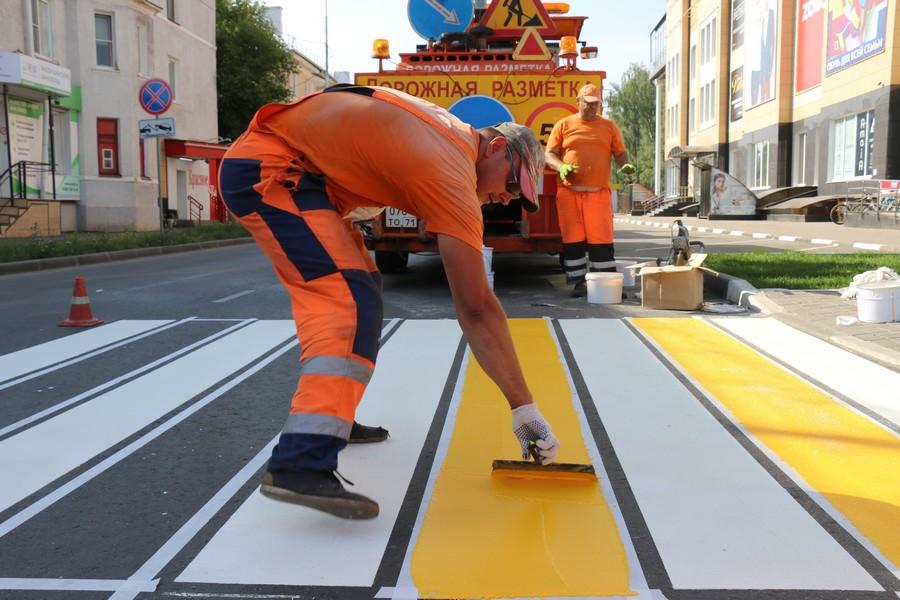 Завершаются работы на улицах Березовая и Шахтеров