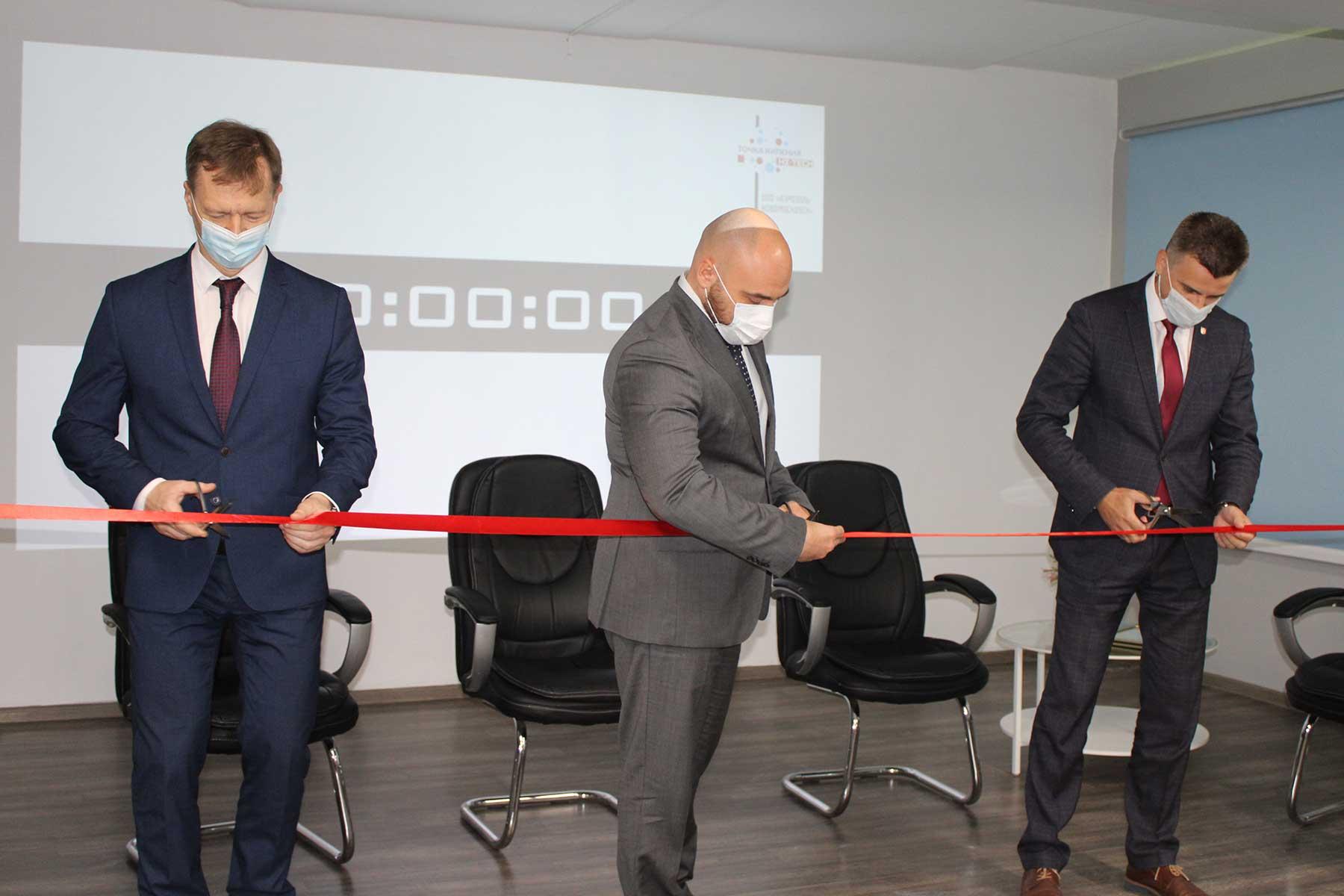 Алексей Бирюлин принял участие в открытии первой точки кипения Hi-Tech в Тульской области